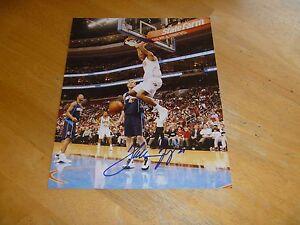 Thaddeus Young Chicago Bulls/ Philadelphia 76ers Signed/Auto 8x10 Photo COA