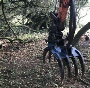 3-6 ton Excavator Grapple Grab Sorting Selector Forestry Thumb