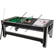 """Triumph Sports 84"""" 3-in-1 Swivel Game Table"""