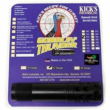 Kicks Gobblin Thunder Ported Turkey Choke Tube 12Ga Browning Invector Plus .640