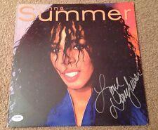 Donna Summer Signed Self Titled Album Vinyl PSA/DNA #W47382 Deceased