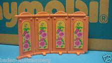 Playmobil 5321 victorian Bedroom series pink curtains 4 pc geobra toy 143