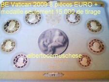 BE VATICAN 2009 8 pièces EURO Vatikan Vaticano PP