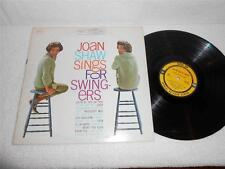 JOAN SHAW~SALENA JONES Sings For Swingers '61 EPIC ORIG STEREO JAZZ LP RARE NMnt