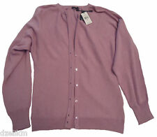 NWT $210 Magaschoni Cotton Cashmere Cardigan Size M