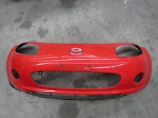 Mazda MX5 Miata NC NC1 05 - 08 Front Bumper Used Good Condition True Red