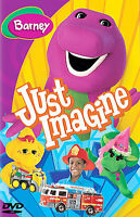 Barney Just Imagine DVD - 2005 - New Sealed