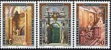 1987 LIECHTENSTEIN N°866/868 NEUF LUXE** PALAIS ARCHITECTURE MNH