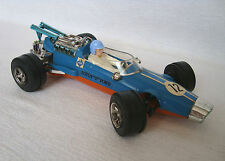 """Vintage 9.8"""" Very Rare West German Ford Lotus F1 Car toy for Parts or Repair"""