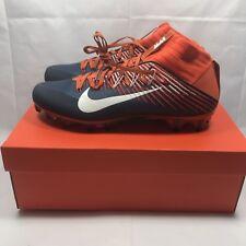sports shoes 1030c fac4e Nike Men s Vapor Untouchable 2 PF Football Cleats 835646-810 Orange Navy Sz  11