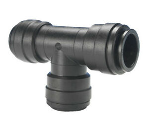 John Guest Push Fit 12mm Equal Tee Water Fitting Connector WS1202