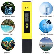 PH Level Test Pen Electrode Sensor Reader PH Meter for Pond, Life Water, Lab Use
