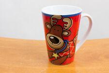 Jo!e (Joe) Reindeer Christmas Holiday Coffee Tea Ceramic Mug Cup