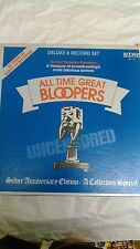 All Time Great Bloopers Uncensored Deluxe 6 Record Set Silber Anniversary    lp3