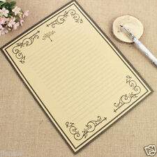8 Sheets Retro Design Writing Stationery Antique Paper Pad Note Letter Set
