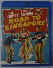 Blu-ray [New] Road To Singapore - Bing Crosby, Bob Hope, Dorothy Lamour