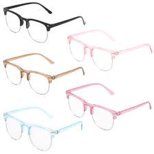 Kids Half Frame Glasses Anti Blue Blocking Glasses Computer Video Gaming Glasses