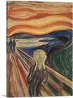 ARTCANVAS The Scream 1910 Canvas Art Print by Edvard Munch