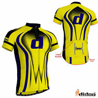 Didoo New Men's Cycling Half Sleeve Shirt Jersey Top Bicycle Team Uniform Jacket