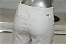pantalon blanc 7/8 taille haute stretch LACOSTE taille 38 fr 42i EXCELLENT ÉTAT