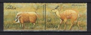 Gambia, 2001, postfr., Tiere