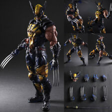 "10"" Marvel Wolverine Figure Variant Play Arts Kai Collection Toy"