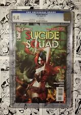 🔥 SUICIDE SQUAD #1 CGC 9.4 The NEW 52 HARLEY QUINN Cover 2011 🔥