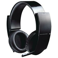 Genuine Sony Ps3 Wireless Stereo Headset CECHYA - 0080 Black Official Product
