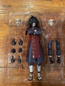 S.H. Figuarts Naruto Shippuden UCHIHA MADARA Bandai Authentic