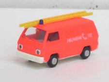 "Mitsubishi L 300 Transporter in leuchtrot ""Heuwehr 112"", o. OVP, Rietze, 1:87"