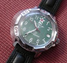 Wrist Mechanical Watch VOSTOK KOMANDIRSKIE Mens Fashion Paratroopers VDV 811307