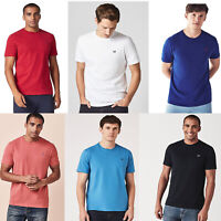 Crew Clothing Mens Cotton Round Neck Short Sleeve Basic T shirt Top Tee S M L XL