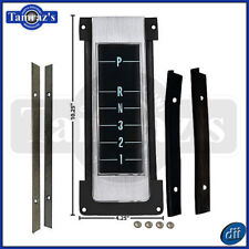 68-70 Chevelle A/T Center Console Shift Indicator Top Plate Assembly - Dynacorn