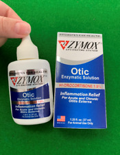 Zymox Otic with Hydrocortisone 1% Ear Drops for Dogs and Cats 1.25 oz,Easy Use