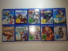 PSVita jeux par exemple LEGO, Tearaway, UNIT 13, ULT. Marvel, MODNATION RACERS,...