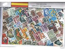 España 500 Sellos usados diferentes @@@ BELLISIMO @@@