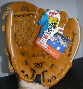 "Rawlings RBG129 11"" Baseball Glove Alex Rodriguez Signature Youth Series RHT NEW"