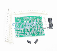 5PCS Skill Training SMD SMT Components Practice Board Shield Kit For DIY NEW