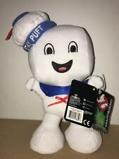 Ghostbusters Stay Puft Marshmallow Man 8� Happy Face Plush Free Shipping! T