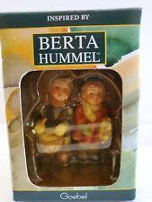 Goebel Berta Hummel Drumming For Joy Xmas Ornament, Bh 58/O 935118