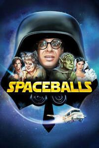 Poster SPACEBALL - BALLE SPAZIALI MEL BROOKS RICK MORANIS PARODIA COMICO CULT