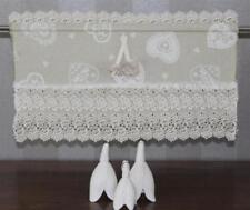 Rideaux et cantonnières coton mélangé pour la salle de bain