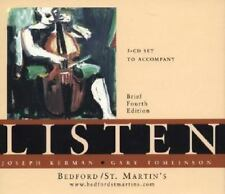 Listen by Gary Tomlinson and Joseph Kerman (2000, 3 CD Set Brief Fourth Edition)