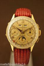 Ulysse Nardin Valjoux 88 Anno 1955 Full Calendar Mondphase Chronograph Flyback