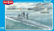 "Electric battery-powered submarine ""Peral"" << Micro-Mir #144-021, 1:144 scale"