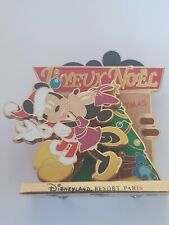 PINS DISNEY NOEL 2007 3D MICKEY MINNIE EDITION LIMITE  a 900 exemplaires