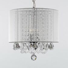Gallery 3-light Crystal Chandelier with Shade