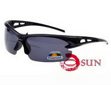 Black Sunglasses Cycling Glasses Outdoor Sports Eyewear UV PROTECTION POLARIZED