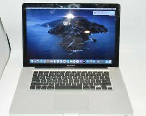 Apple Macbook Pro 15 A1286 MID 2012 - i7 2.3Ghz CPU 8GB RAM - NO HDD - Quad Core