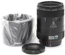 SMC Pentax D FA MACRO 1:2,8 100 WR Objektiv Lens 12 Monate Gewähr. *11